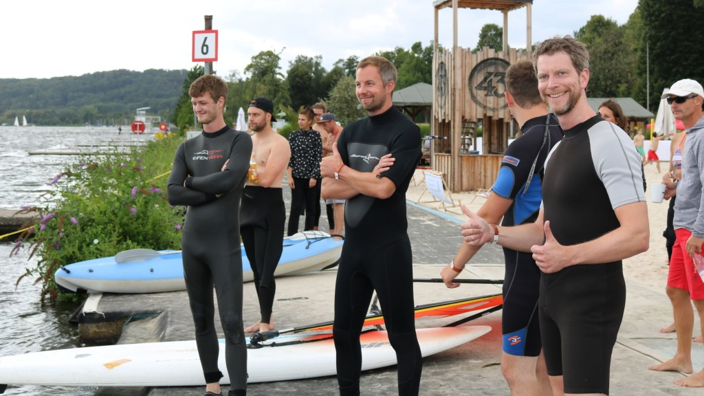 teamgeist Sommercamp 2019 Windsurfen