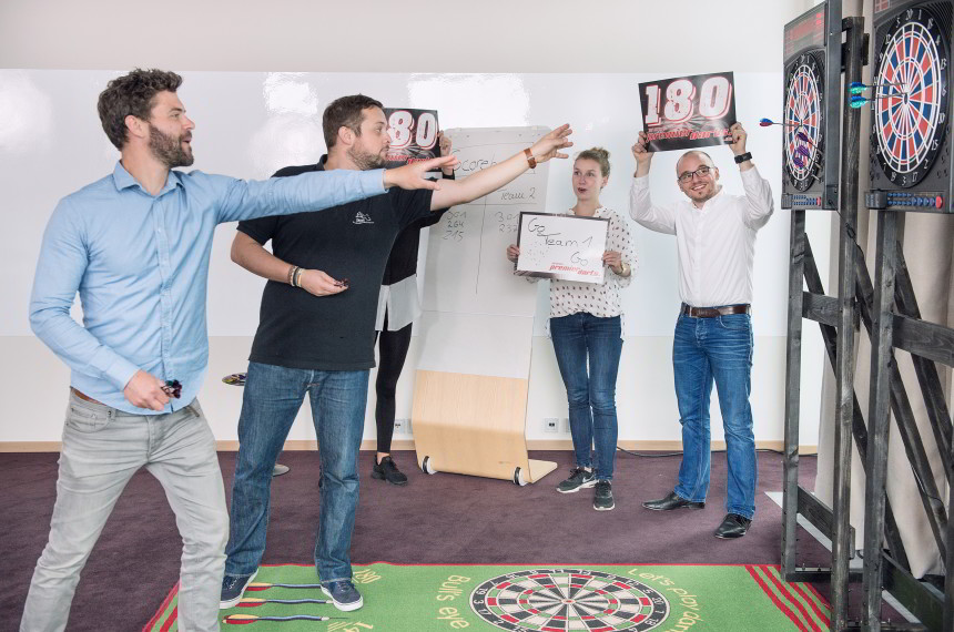 Dart Indoor Zielscheibe Team Wurf