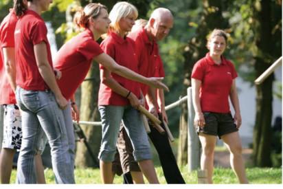 Kubb mit teamgeist-Braunschweig