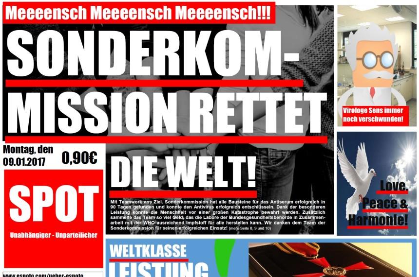 TabTime Sonderkomission Zeitung Artikel Potsdam