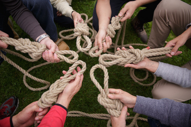 Seil-Knoten