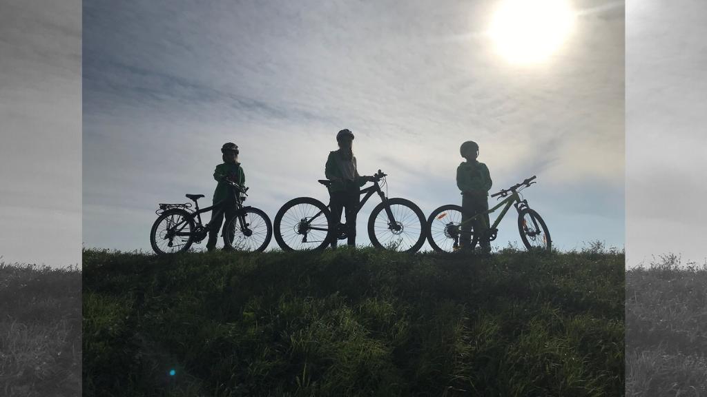 Familien Fahrradtour