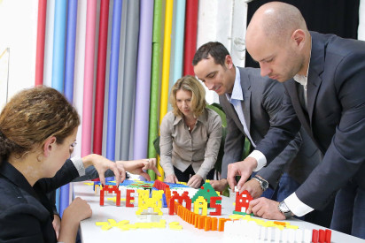 X-mas Domino-Lego-Challenge Frankfurt - Xmas-Special bis 31.10.2018 buchen und 10% sparen!