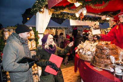 Mobiler Weihnachtsmarkt