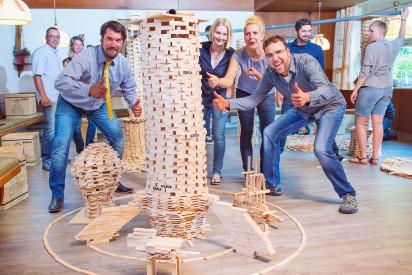 Kapla Bau Holz Indoor Team