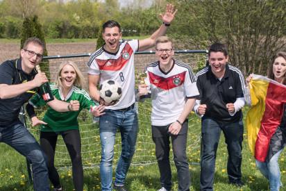 Fußball-Teamchallenge München