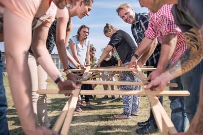 Teamchallenge für Großgruppen in Darmstadt
