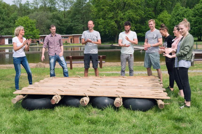 Flossbau Team Wiese