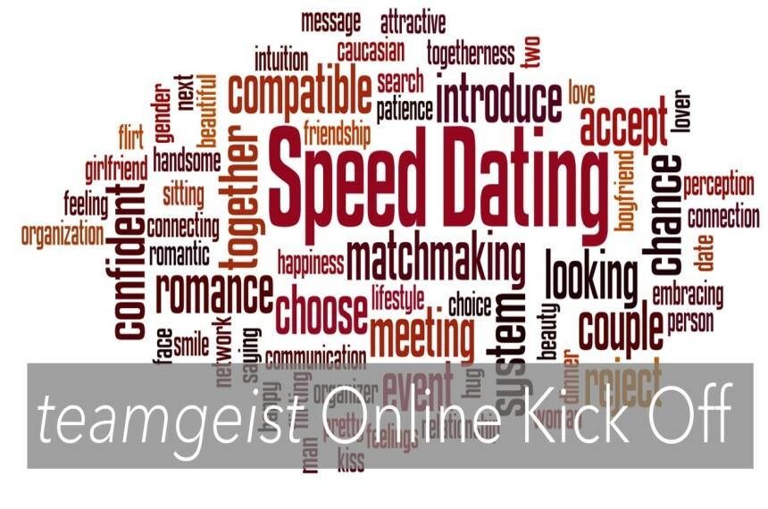 Speed Dating als Online Kick Off Event 0