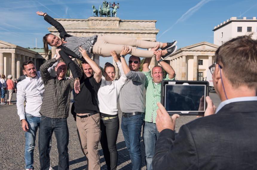 Team Berlin Brandenburger Tor Tablet iPad