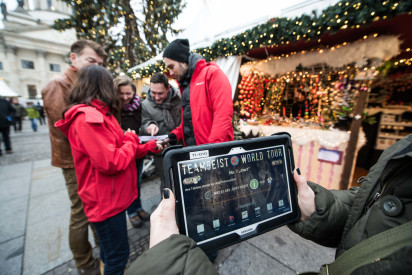 Weihnachts-Rallye mit iPads in Potsdam(Kongresshotel Potsdam)