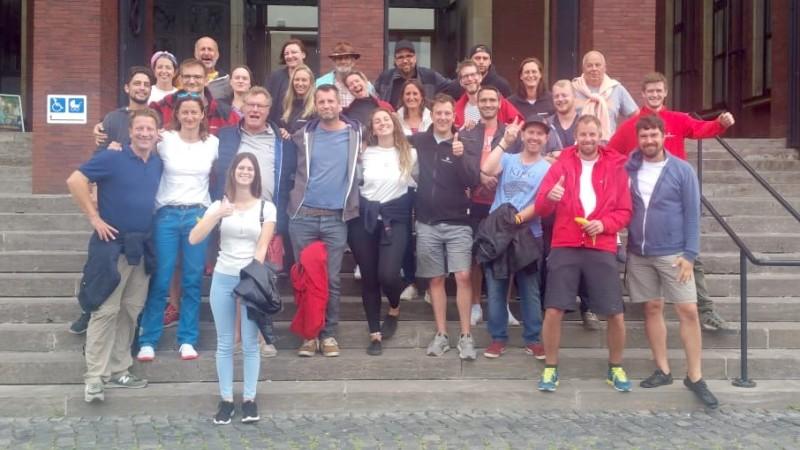Teamfoto teamgeist Sommercamp 2019
