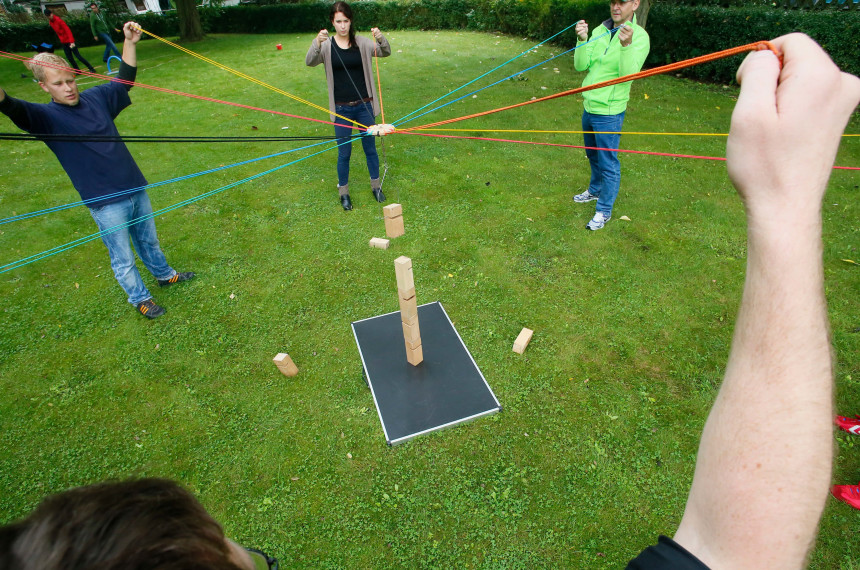 Teamchallenge - indoor und outdoor 0
