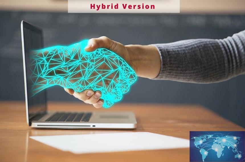 Komplettlösung für interaktive hybride Meetings 0