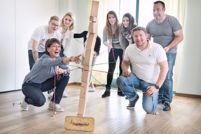 Teamchallenge - indoor und outdoor
