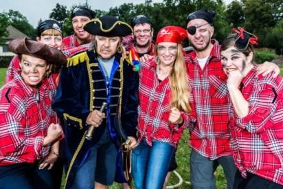 Piraten Floßbau