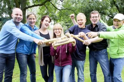 Teamchallenge für Großgruppen in Trier