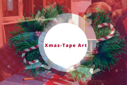 Xmas Tape Art Bielefeld