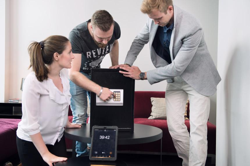 Team Tresor Raetsel iPad