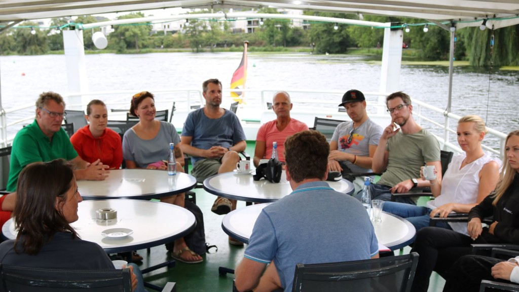 Sommercamp 2019 teamgeist Bootsfahrt Workshop