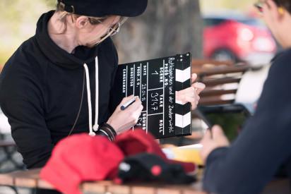 ipad Filmdrehfestival Oberhof