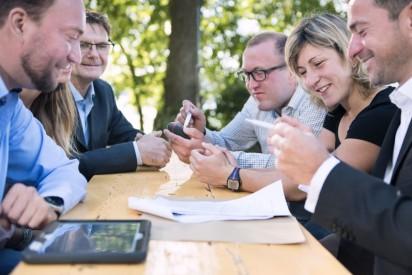 iPad Team Rallye - tabtour die digitale Schnitzeljagd durch Frankfurt