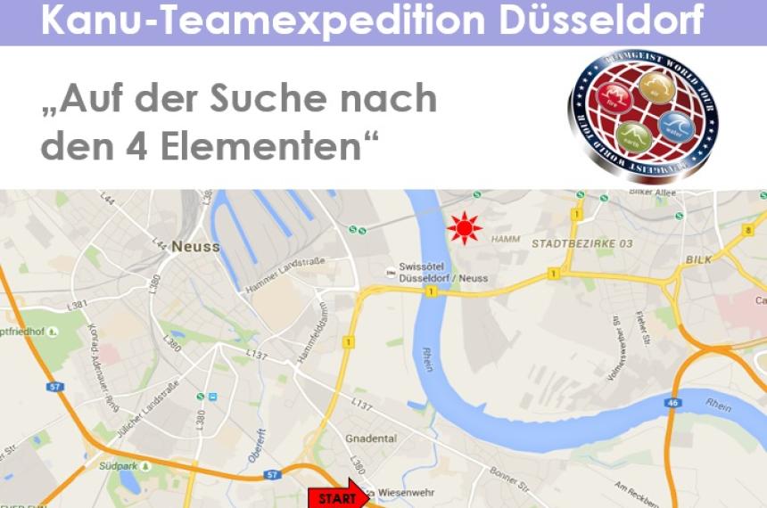 Kanu-Teamexpedition in Düsseldorf 0