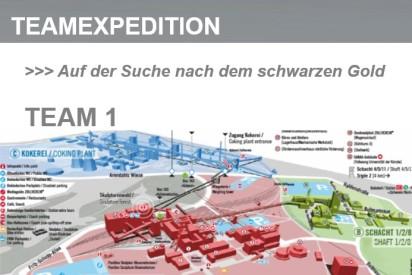 freudige Gruppe bei sport firmenevent-Berlin