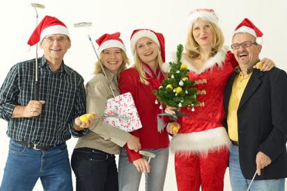 Weihnachtsgolfturnier in Bergisch Gladbach