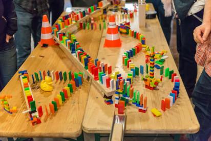 Domino Event für Großgruppen in Gütersloh