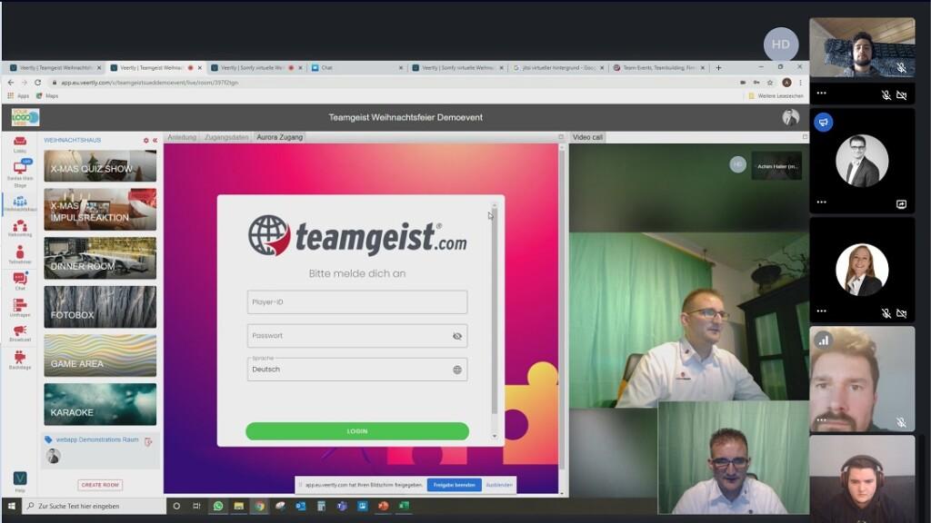<em>teamgeist</em> Spiele, die ehemals nur App-basiert waren, sind in meet.teamgeist integriert. Ein praktischer Vorteil für TeilnehmerInnen und OrganisatorInnen!