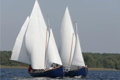 Zwei Segelschiffe-Potsdam