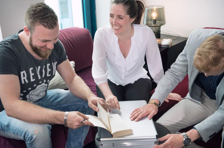 Team Raetsel Koffer Buch