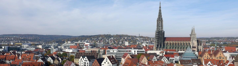 Ulm Skyline mit Ulmer Münster