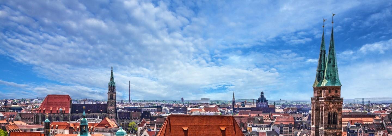 Nürnberg Skylline