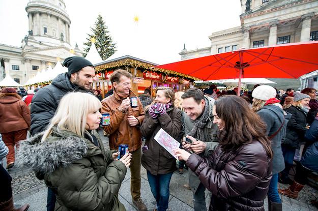 weihnachts city rallye-Leipzig