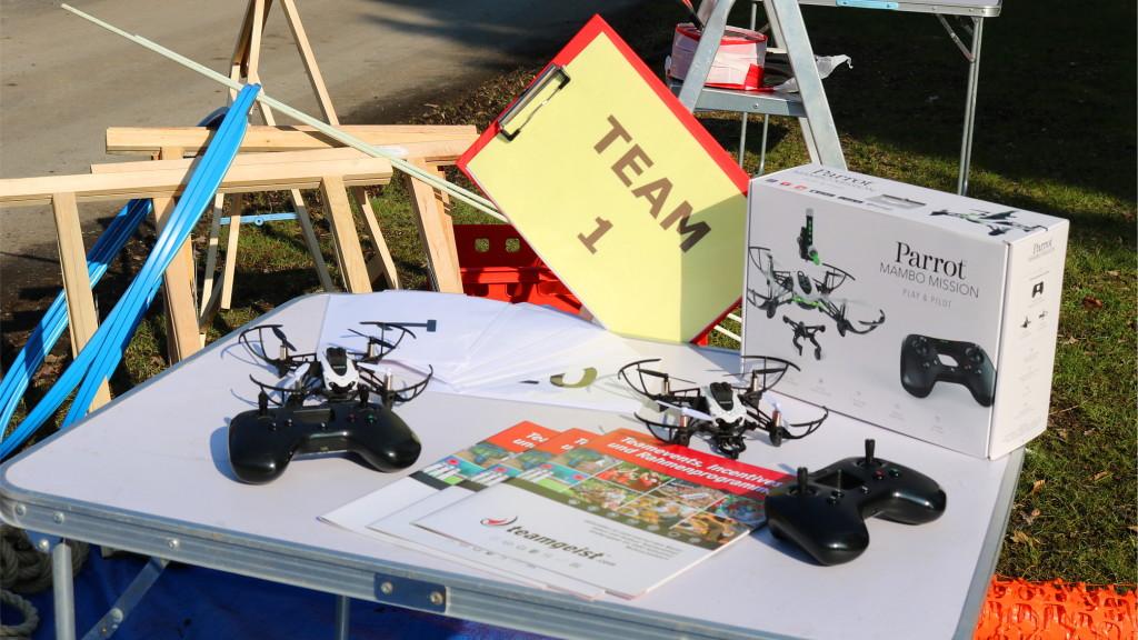 Drohnen Parcour Team Event