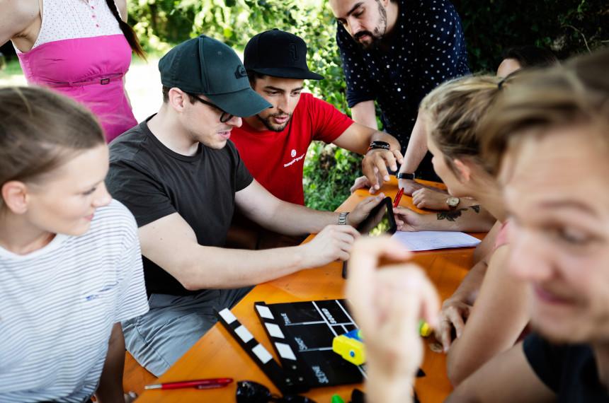 iMovi, iPad Filmfestival outdoor