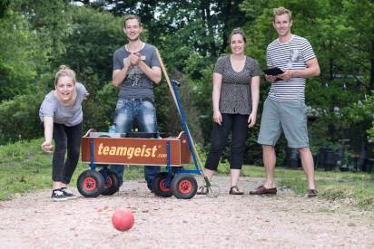 Bosseln Team Kugel Outdoor Wagen