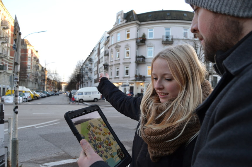 tabgame – the iPad Rally (digital scavenger hunt) Hamburg 0