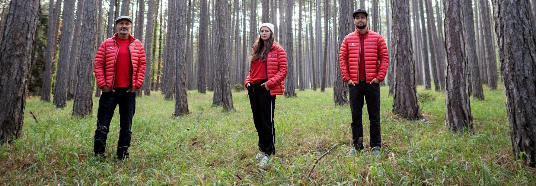 Team Wien teamgeist im Wald