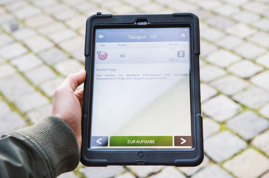 tabtour - die digitale Schnitzeljagd als Event mit Abstand 1