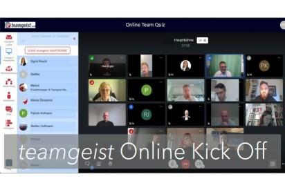 Online Team Quiz als Online Kick Off Event
