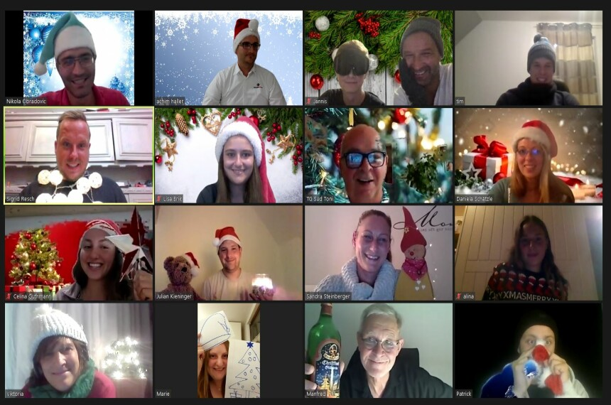 Remote Christmas Party als virtuelle Weihnachtsfeier 0