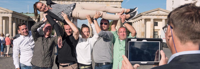 Foto Rallye iPad Tablet Teamevent Challenge