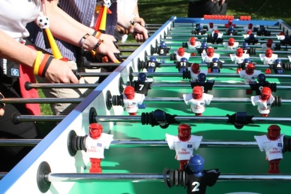 Das Team Kicker Turnier mit teamgeist-Bielefeld