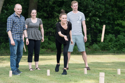 Kubb Team Wurf Outdoor