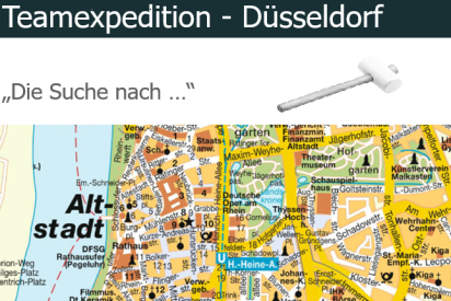 Teamexpedition in Düsseldorf