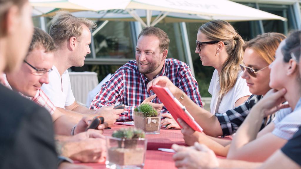 Dinner Rallye Potsdam iPad Tablet Kulinarisch Teamevent