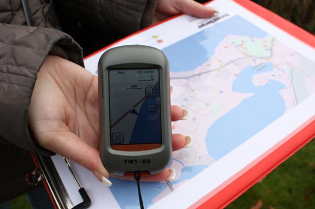 GPS Rallye GPS-Gerät-Frankfurt